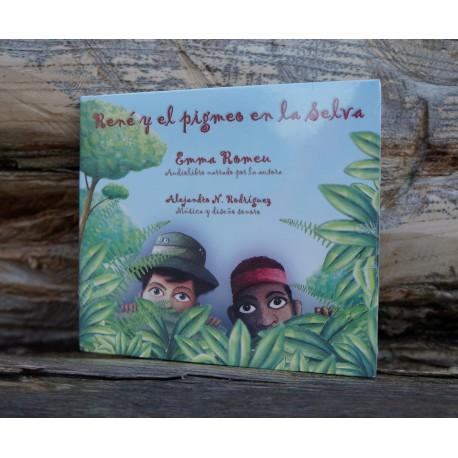 René y el pigmeo en la selva