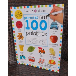 Primeras First 100 palabras words (Bilingual)