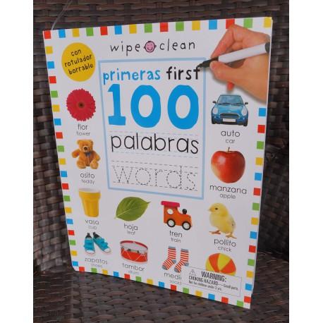 Primeras First 100 palabras words (Bilingual)