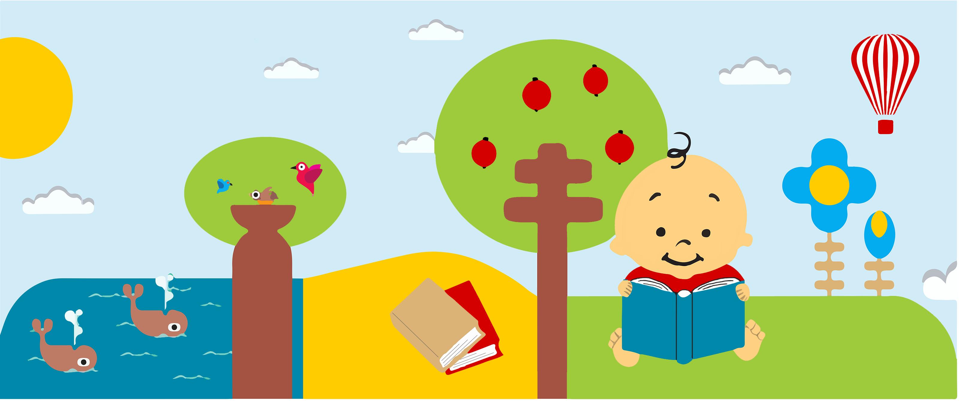 Multilingual children´s bookshop
