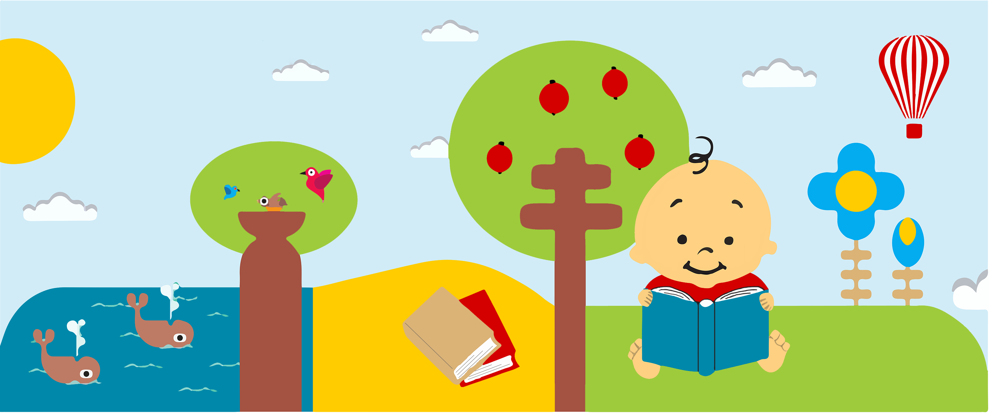Librería multilingual para niños